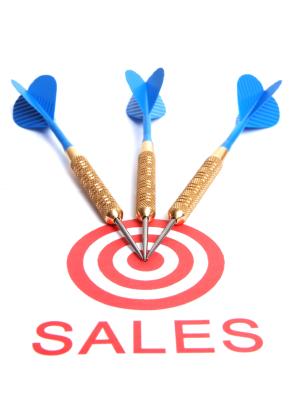Sales bullseye