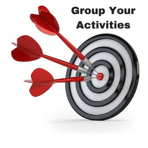 Group Your Activities